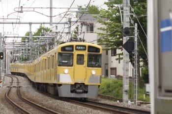 2010年5月7日、池袋~椎名町、2451F+2063Fの4801レ(西武秩父ゆき)。