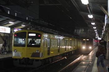 2010年5月7日 19時52分頃、所沢、263Fの新宿線 下り回送列車。