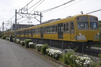 2010年5月8日、下山口~西武球場前、271F+277Fの6142レ。