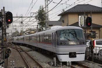 2010年5月15日、西所沢、1番ホームから発車したドーム96号。