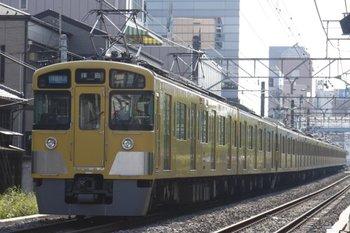 2010年5月16日、高田馬場~下落合、2455F+2095Fの3319レ。