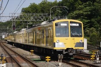 2010年5月17日 15時57分頃、仏子、中線へ入る287F+1301Fの下り回送列車。