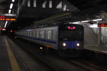 2010年5月18日 19時55分頃、西所沢、通過する20158Fの上り回送列車。