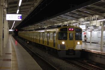 2010年6月1日、入間市、2089Fの下り回送列車。