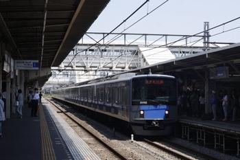2010年6月2日 10時37分頃、所沢、所沢止まりの新宿線・上り列車。