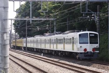 2010年6月5日 12時13分頃、所沢~新秋津、JR新秋津駅へ向かう1249F+263F。