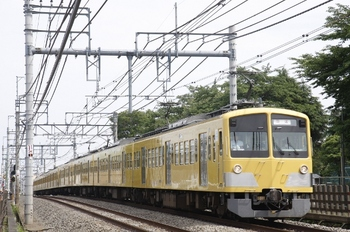 2010年6月6日 13時47分頃、所沢~西所沢、263F+1219Fの下り列車。