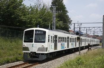 2010年6月12日、新小金井~多磨、1249Fの153レ。