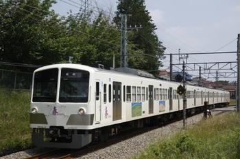 2010年6月12日、新小金井~多磨、1247Fの143レ。