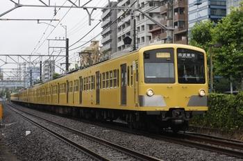 2010年6月23日、高田馬場~下落合、1253F+295F+1239Fの2754レ。