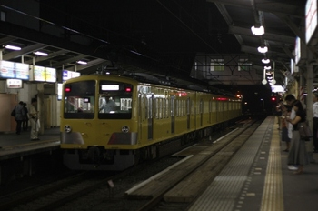 2010年6月24日 19時51分頃、所沢、263Fの下り回送列車。
