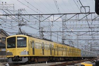 2010年6月27日 14時49分頃、西所沢、263F+38109Fの下り回送列車。