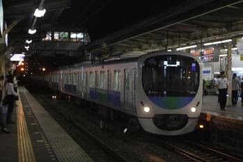 2010年6月30日 19時51分頃、所沢、38108Fの新宿線・下り回送列車。