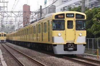 2010年7月3日、高田馬場~下落合、2515F+2455F;2541Fの2637レ。