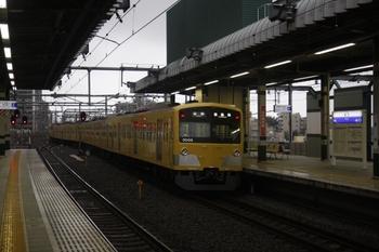 2010年7月4日、練馬、上りホームから発車した3007Fの下り5401レ。