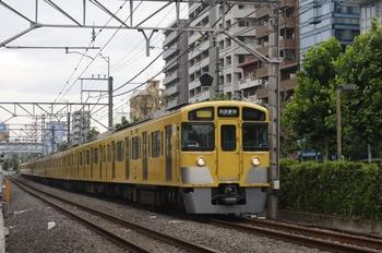 2010年7月12日、高田馬場~下落合、2541F+2455F+2535Fの2754レ。