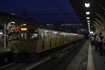 2010年7月12日、所沢、2413F+2505F+2537Fの2678レ。