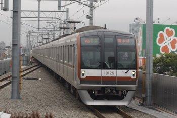 2010年7月13日、石神井公園、メトロ10025Fの4502レ。