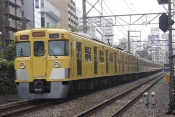 2010年7月14日、高田馬場~下落合、2411F+2525F+2521Fの2754レ。
