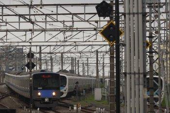 2010年7月16日 6時3分頃、所沢、20151Fの上り回送列車。