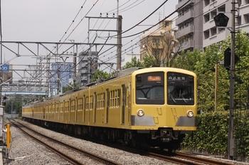 2010年7月31日、高田馬場~下落合、1253F+295F+1239Fの2640レ。