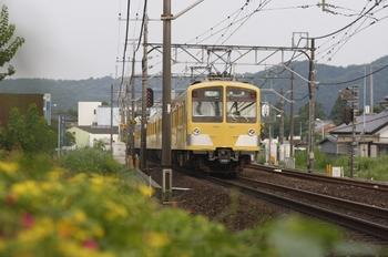 2010年7月31日、元加治~飯能、287F+1303Fの4122レ。
