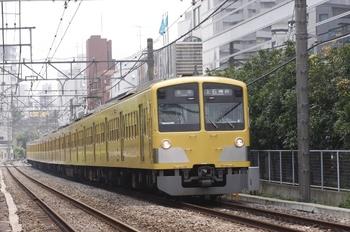 2010年8月1日、高田馬場~下落合、1301Fの5011レ。
