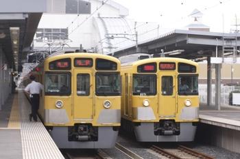 2010年8月1日、東長崎、右側が2071Fの1007レ。