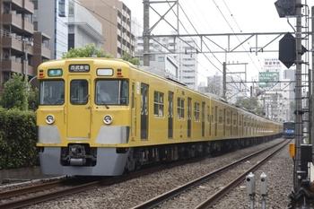 2010年8月2日、高田馬場~下落合、2015F+2545Fの4608レ。