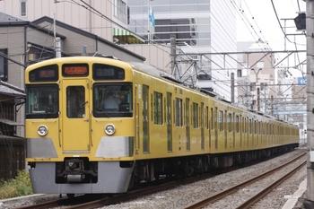2010年8月14日、高田馬場~下落合、2057Fの2101レ。