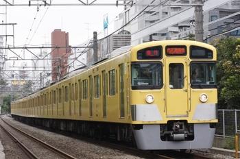 2010年8月14日、高田馬場~下落合、2095Fの2105レ。
