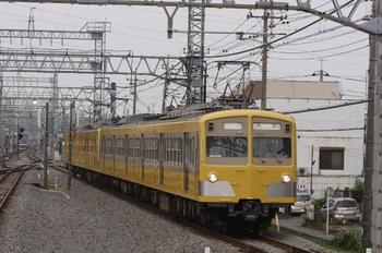 2010年8月14日 15時42分、小手指、271F+287Fの下り回送列車。