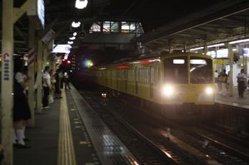 2010年8月13日 19時50分頃、所沢、1301Fの新宿線・下り回送。
