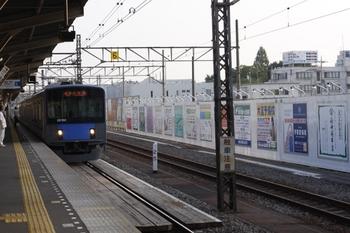 2010年8月17日、所沢、到着する5205レの20152F。