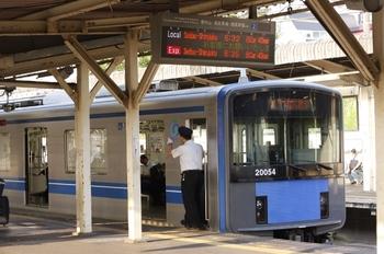 2010年8月17日、所沢、20154Fの5806レ。