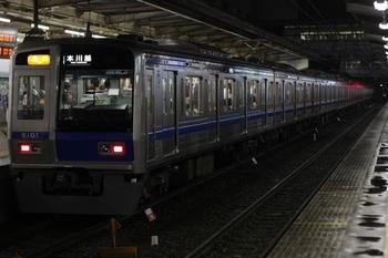 2010年8月19日、所沢、6101Fの2673レ。