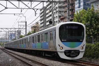 2010年8月20日、高田馬場~下落合、38101Fの5034レ。