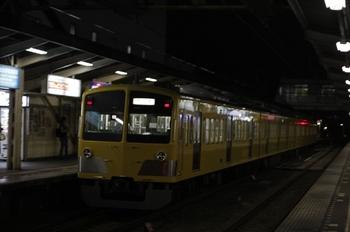 2010年8月23日 19時51分頃、所沢、1257Fの新宿線・下り回送。