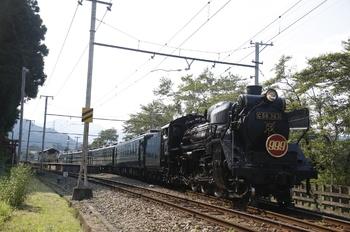 2010年8月31日、武州日野、熊谷ゆきのSL「999」号。