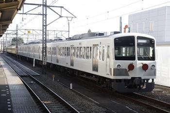 2010年9月4日 7時ころ、所沢、6番線に留置の1251F+263F。
