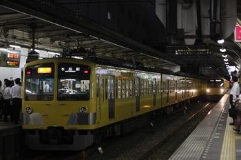 2010年9月6日、所沢、2677レの295F+1239F+1245F。