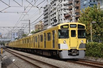 2010年9月13日、高田馬場~下落合、2519F+2539F+2409Fの2754レ。