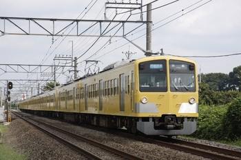 2010年9月19日、小川~東大和市、295F+1245F+1239Fの3309レ。