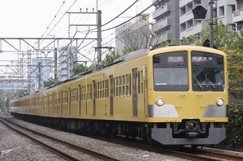 2010年9月20日、高田馬場~下落合、1311Fの5612レ。