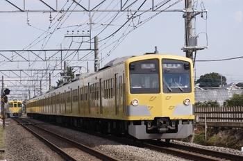 2010年9月26日、小川~東大和市、1301Fの5263レ。