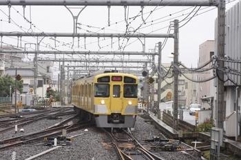 2010年9月27日 11時20分頃、飯能、秩父方から到着する2083Fの上り回送。