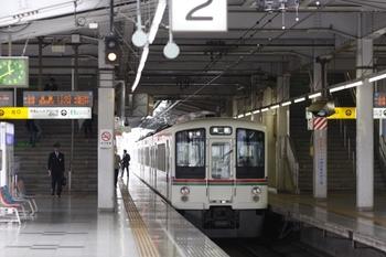2010年9月27日 11時40分頃、飯能、発車を待つ4003Fの高麗ゆき。