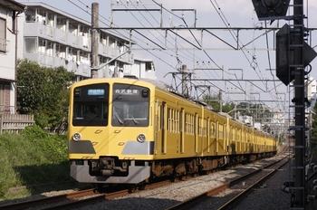 2010年10月2日、武蔵関~東伏見、295F+1245F+1239Fの3318レ。