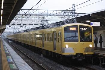 2010年10月1日、所沢、281F+1301Fの2604レ。