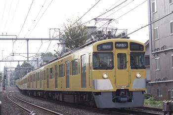 2010年10月5日、池袋~椎名町、2461F+2069Fの4801レ。
